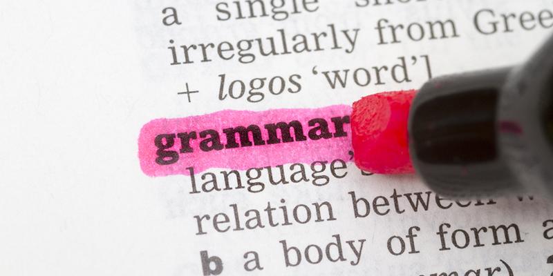 Dearest Grammar Nazi